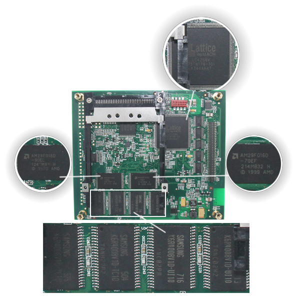 Wireless SD Connect Compact C4 PCB Board