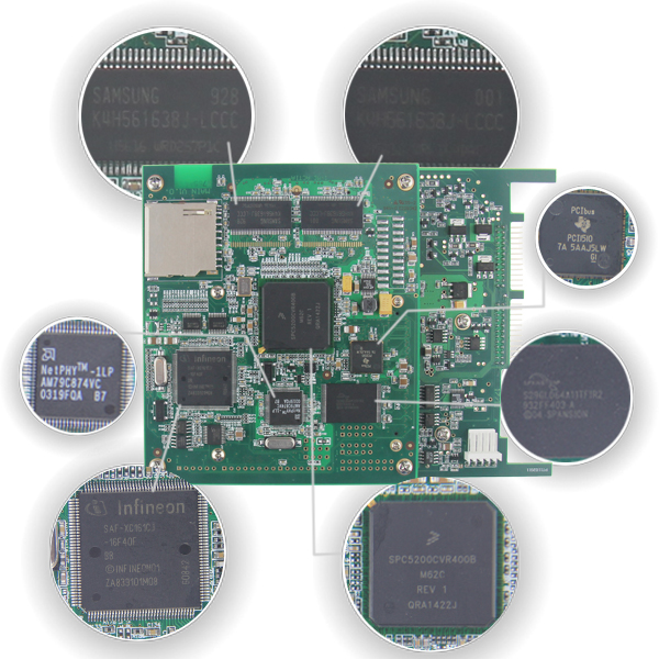 Benz SD Connect4 PCB Board