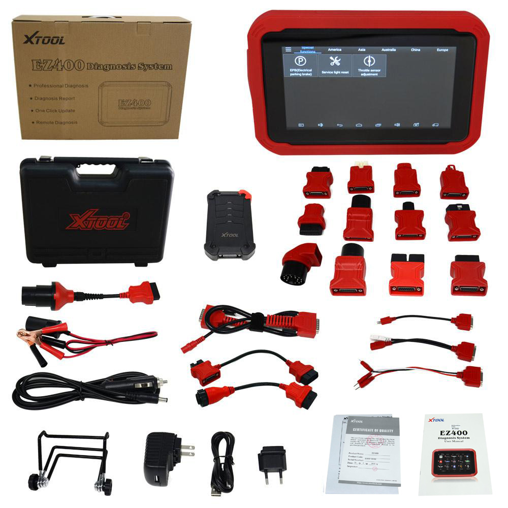 XTOOL EZ400 Packing List