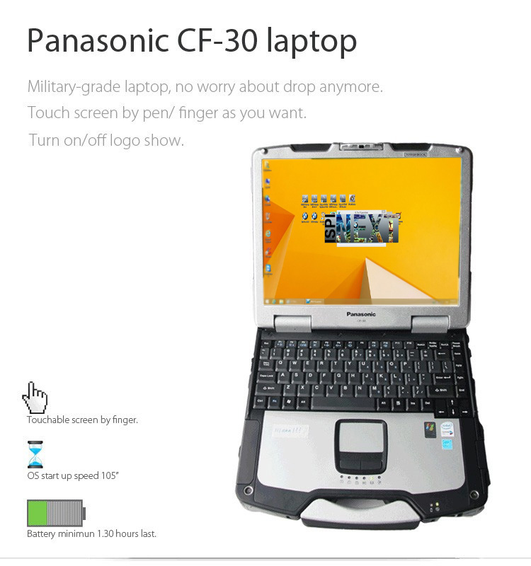 Panasonic CF30 Touch Screen Laptop