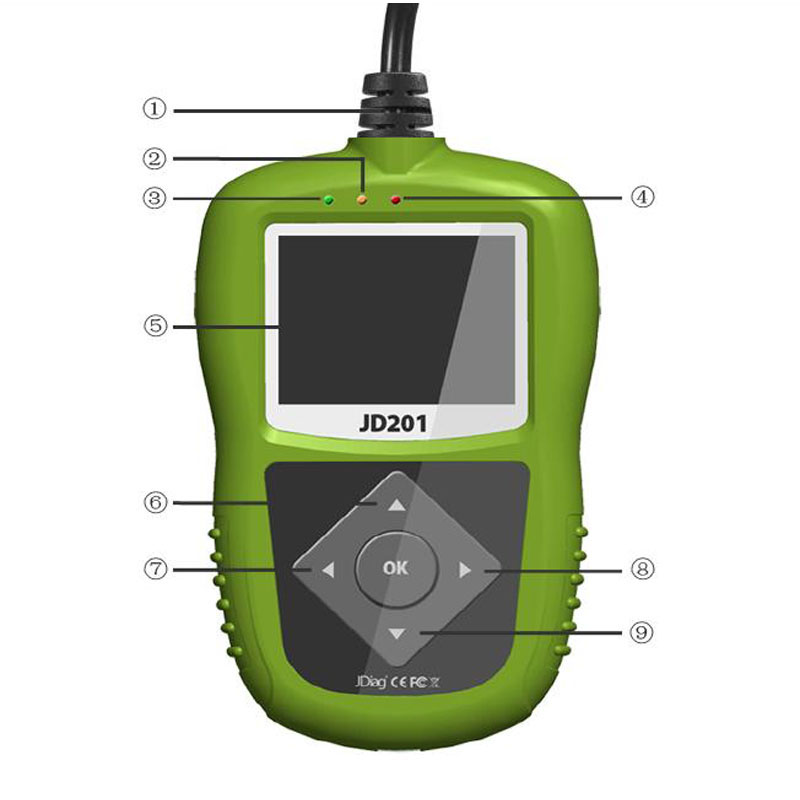JDiag JD201 Code Reader Description