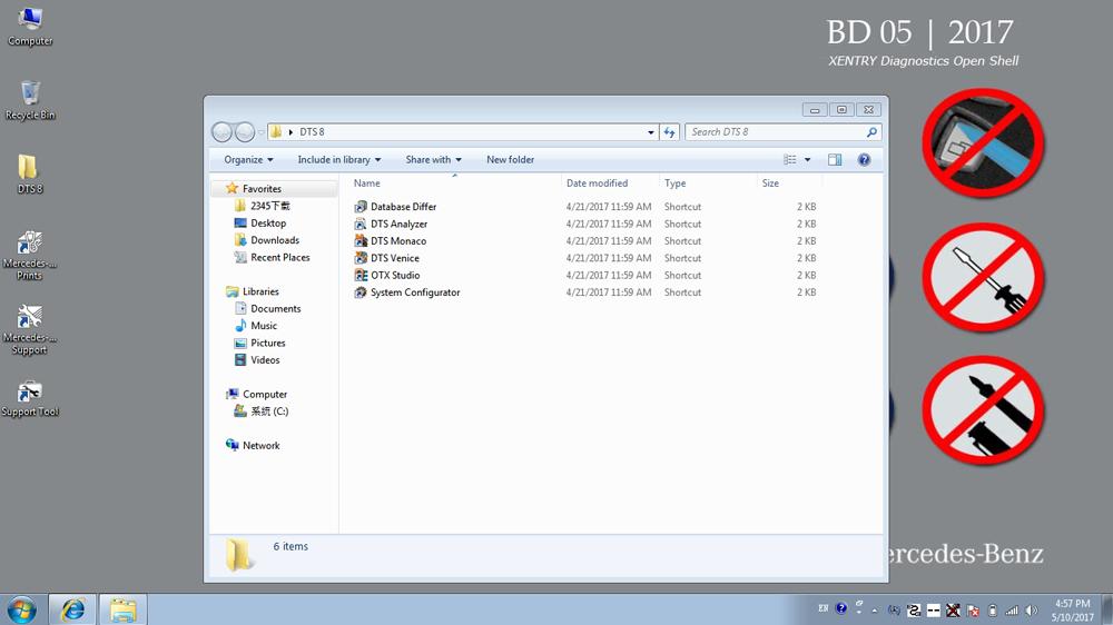 Benz XDOS Software DTS8