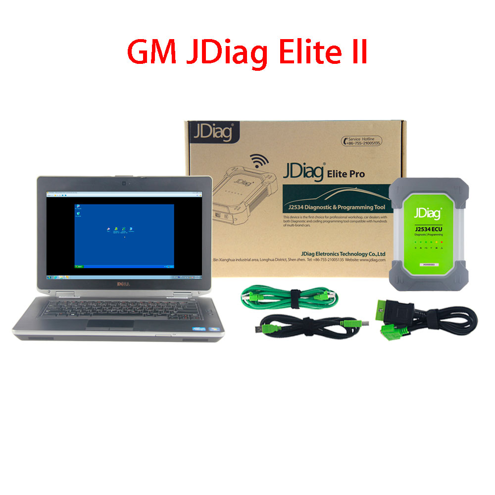 GM JDiag Elite II Pro With Laptop