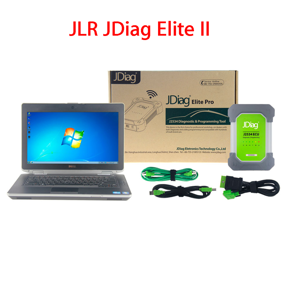 JLR JDiag Elite II Pro With Laptop