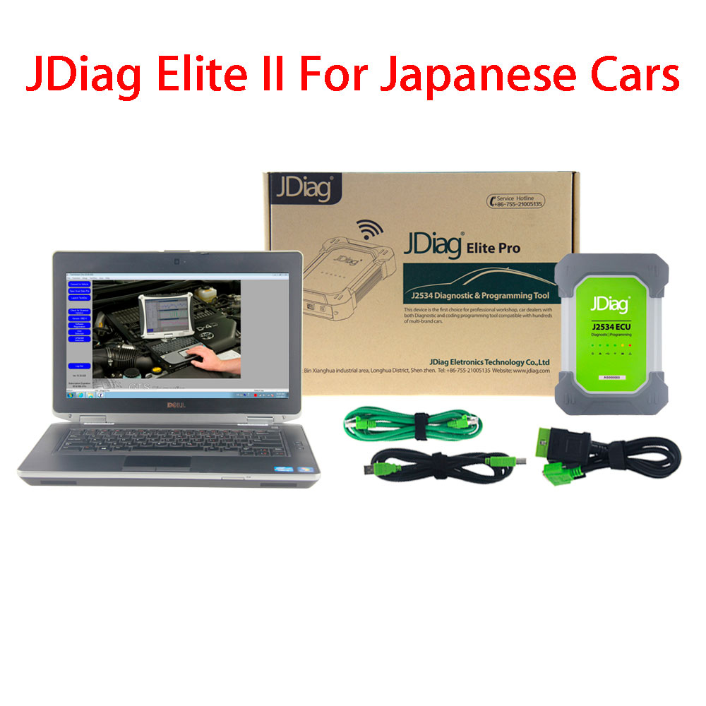 Japanese JDiag Elite II With Laptop