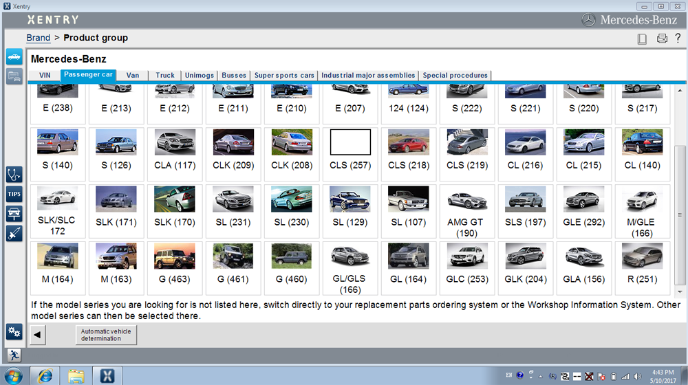 Benz SD C4 Software - Passenger Car