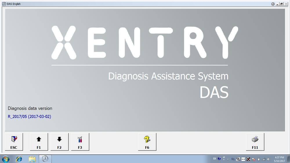 Benz XDOS Software - DAS