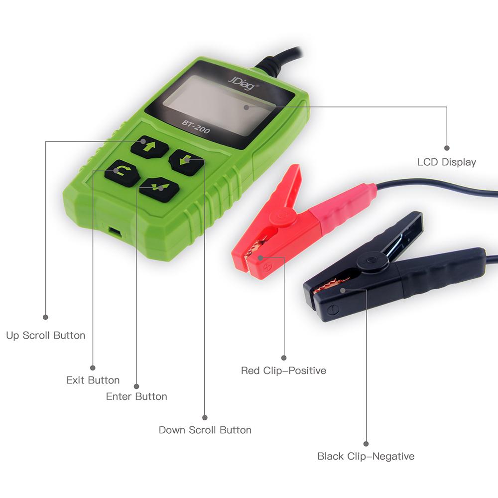 JDiag FasCheck BT200 Interface Details
