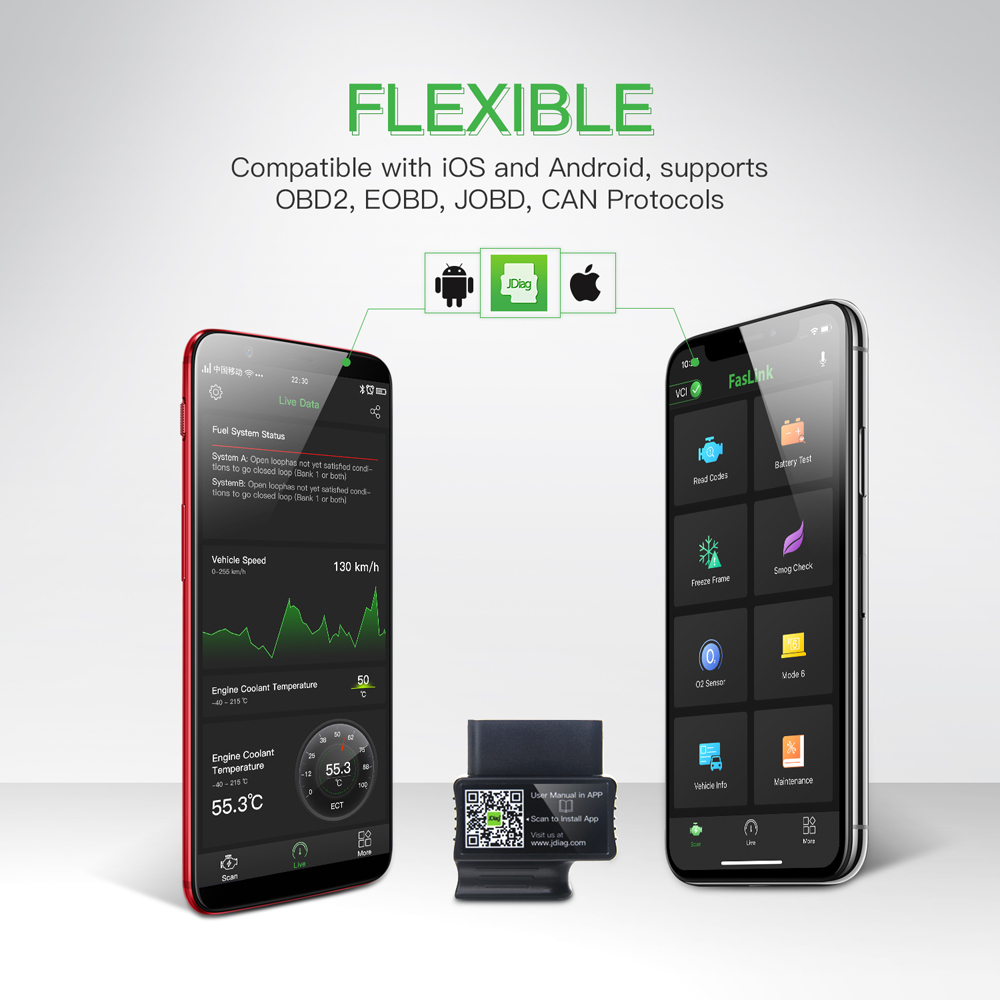 JDiag FasLink M2 for iOS Android