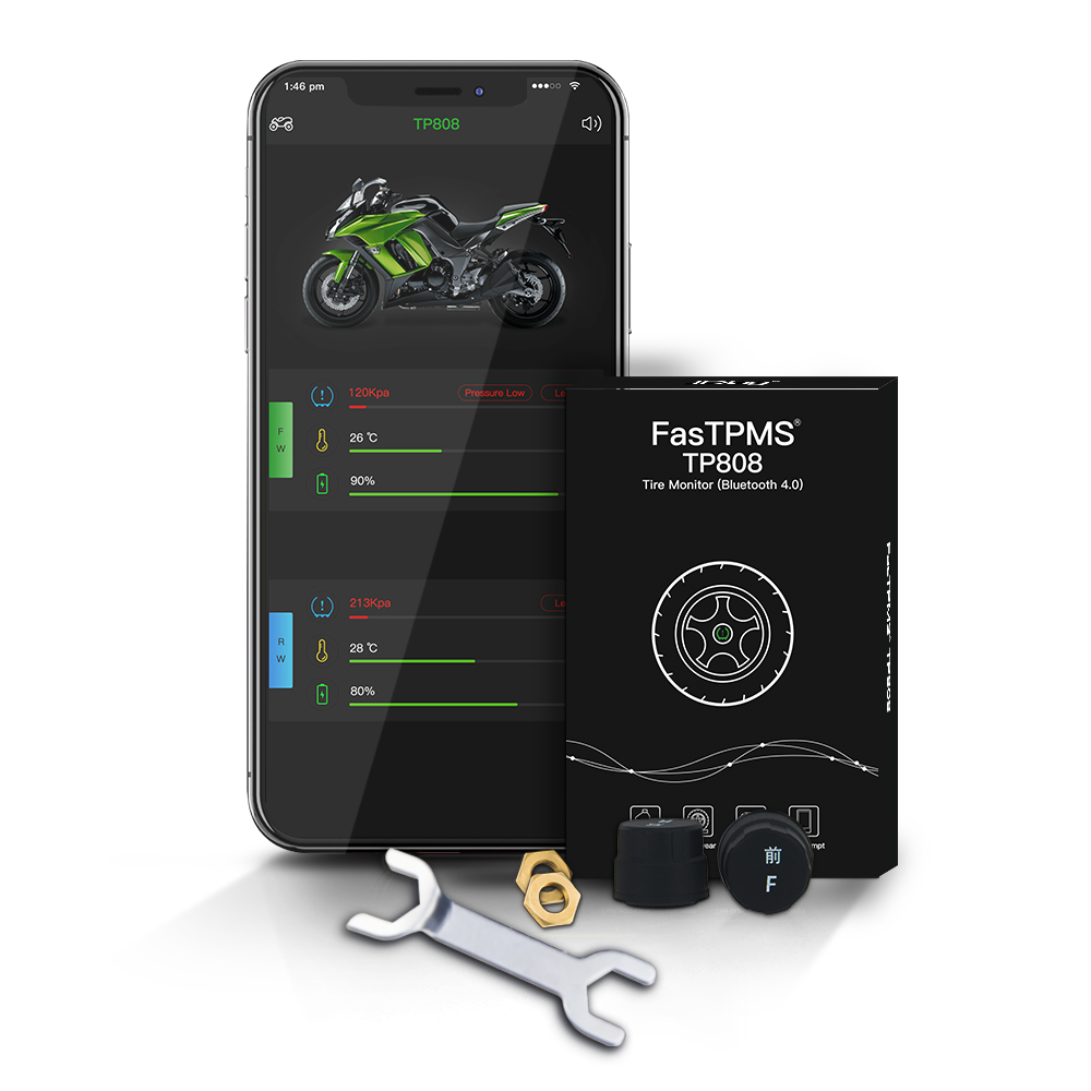 JDiag FasTPMS TP808 Bluetooth 4.0 for iOS Android