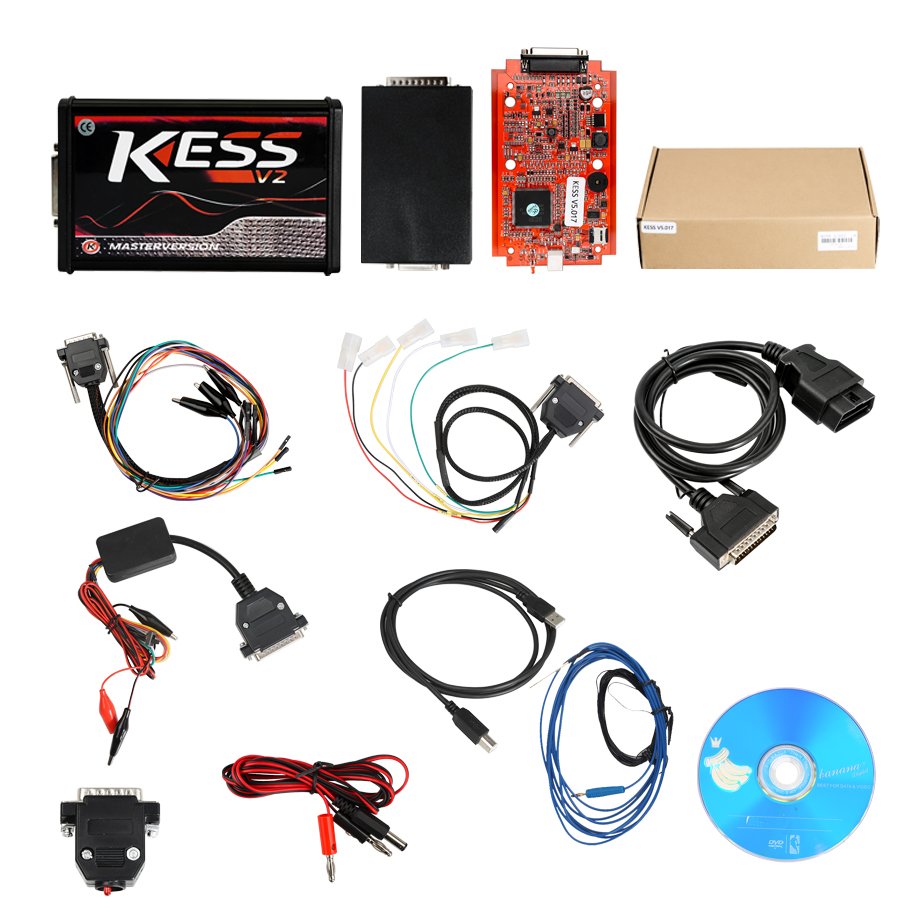 Kess V2 V5.017 Packing List