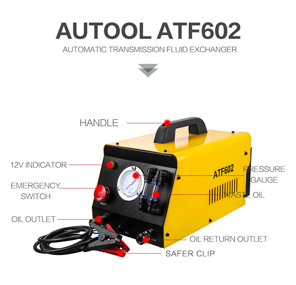AUTOOL ATF602 Car Brake Fluid Bleeder