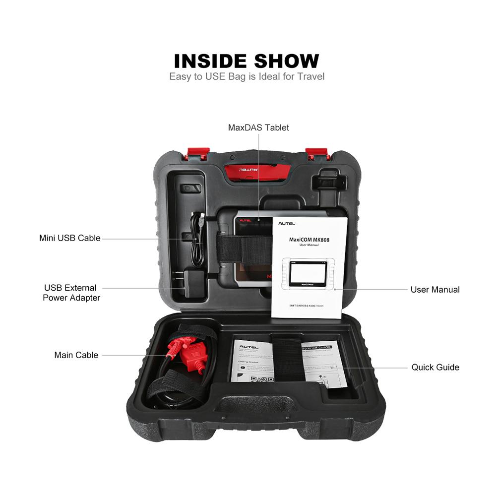 Autel MaxiCOM MK808 Full Set