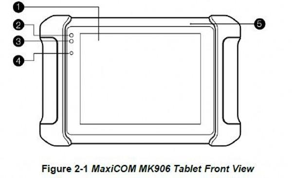 Original AUTEL MaxiCom MK906
